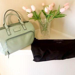 Gorgeous mint green Kate Spade satchel